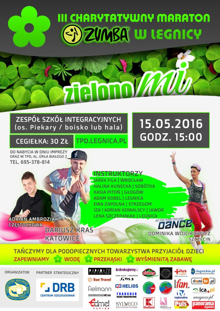 plakat_zielona_zumba_maraton