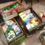 Zbiórka żywności, wrzesień 2012