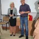 Narada instruktażowo-szkoleniowa przewodniczących kół z powiatu lubińskiego w Gminnym Gimnazjum w Lubinie