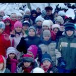 Uczestnicy zimowiska TPD w 2010 r.